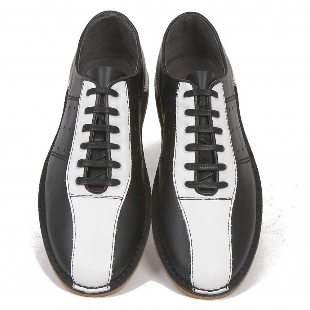 Watts black & white bowling shoe