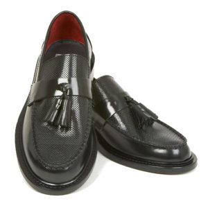 Ace Punch black tassel loafer