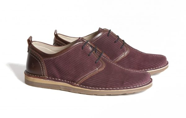 Afterglow Burgundy lace up shoe