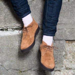 Bullitt tan chukka boot