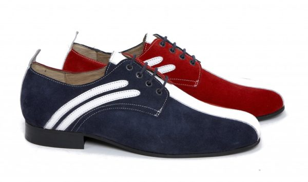 The Rifle lace up badger shoe