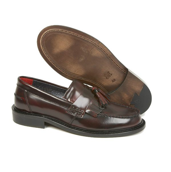 Rude Boy Oxblood Tassel Loafer