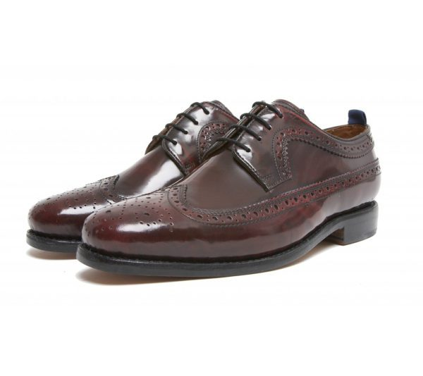 The Upsetter Classic long wing leather brogue