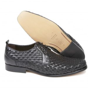 The Meaden woven lace up shoe