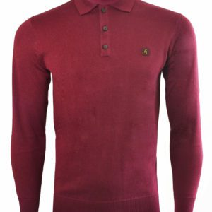 Port knitted polo