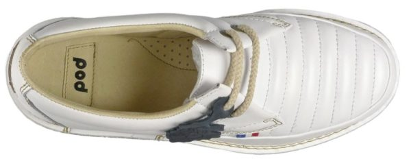 Pod Heritage Mens Jagger White Shoes