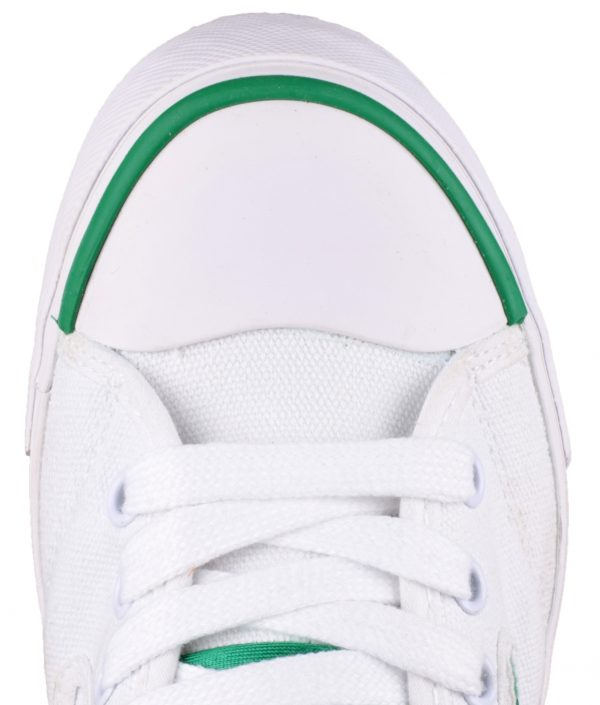 Dunlop Lace Green Flash Trainer