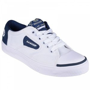 Dunlop Lace Navy Flash Trainer