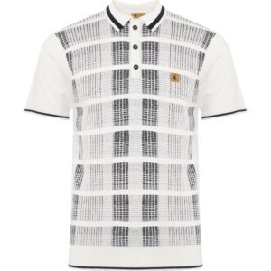 GABICCI White Revler Polo Shirt
