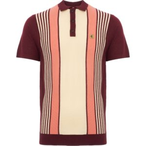GABICCI Port Searle stripe Knitted Polo